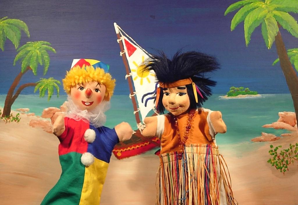 Kasperl auf der Kokosnuss-Insel