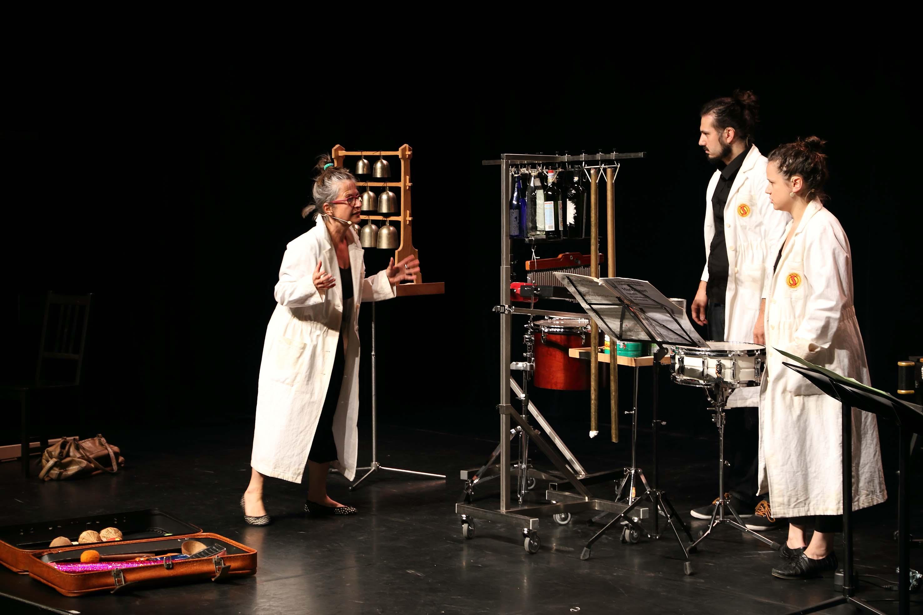 Frau Dr. Crescendo auf der Suche nach der verschwundenen Harmonie