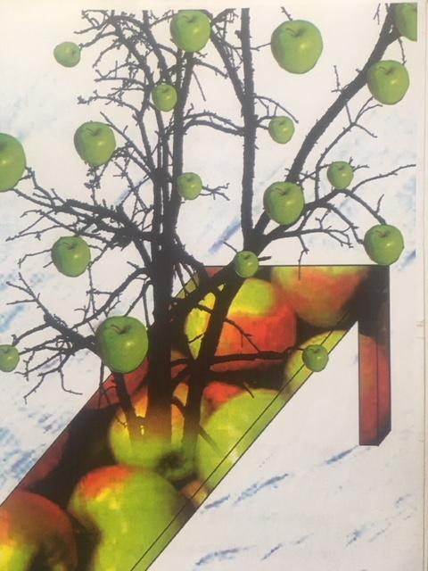 Jedermann und der Tod im Apfelbaum