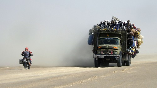 Inside Afrika – 22.000 Kilometer durch Wüste, Busch und Regenwald
