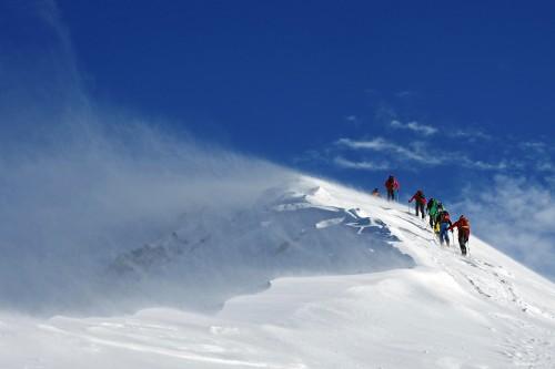 Skibergsteigen in den Bergen der Welt