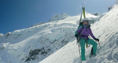 Skifahren in fernen Ländern