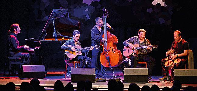 Fünf Instrumentalisten, fünf Komponisten, fünf Freunde!