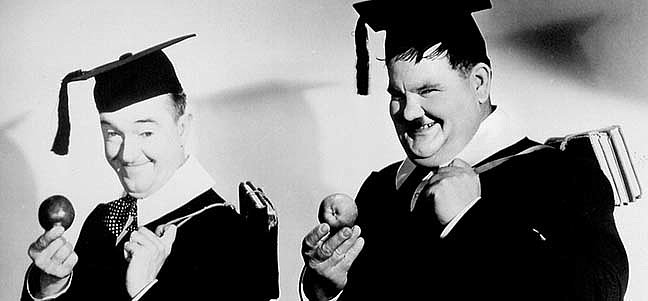 Stan Laurel & Oliver Hardy: A Chump at Oxford – Dick und Doof als Studenten