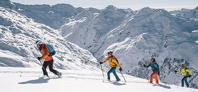 Einführung in den Skitourensport