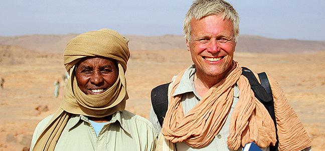 Paradies in der Wüste – Seenlandschaft in entlegenen Wüstenregionen der Sahara